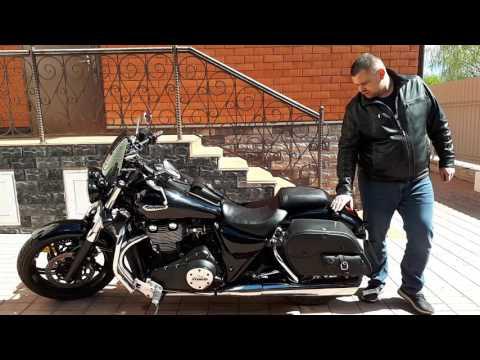Triumph Thunderbird 1700 Big Bore Motorcycle Saddlebags Review - vikingbags.com