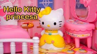 Casinha De Bonecas Hello Kitty Princesa - Kitty & Mimi Encontram Amigo Especial -Brinquedonovelinhas