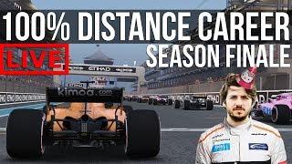 F1 2018 - 100% Distance Career Mode   Round 21: Abu Dhabi **SEASON FINALE**