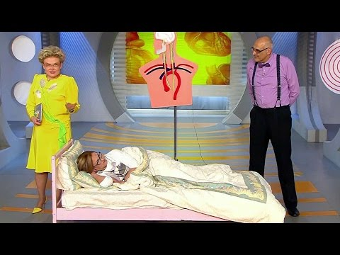 Жить здорово! Причины нарушения сна у женщин старше 50.(06.06.2016)