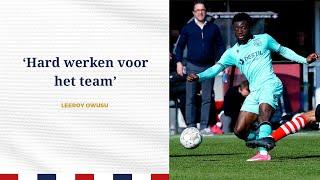 INTERVIEW • Leeroy Owusu • 'Hard werken voor het team'