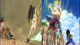 #5 Goku and Vegeta Vs Broly and Broly (Dragon Ball Z: Parallel World 2) -DBXV2