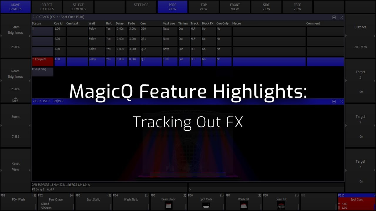 FX Track Out