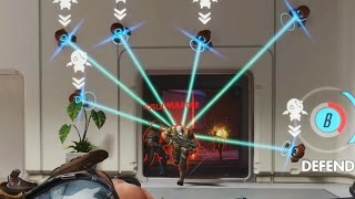 Overwatch Bronze Moments #18 - Kill Gate of DOOM!