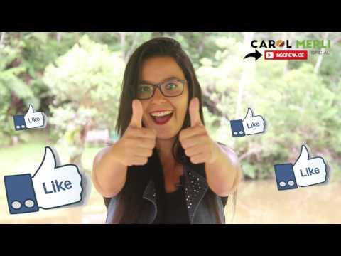Carol Merli agora no Youtube