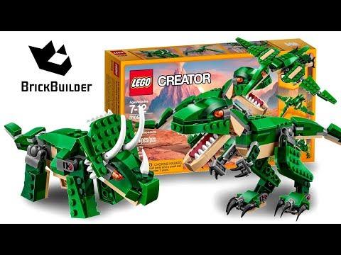 Vidéo LEGO Creator 31058 : Le dinosaure féroce