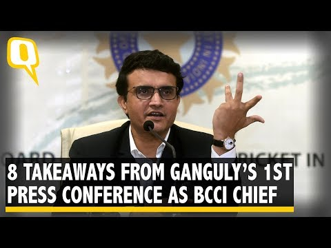 Key Takeaways From Sourav Ganguly's 1st Media interaction as BCCI Head | The Quint