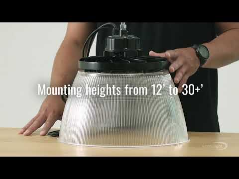 See why everyone loves the E-HTH Series LED UFO High Bay Light