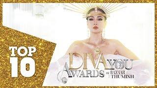 I Am Diva  Nhìn lại Top 10 giải thưởng A Diva you awards