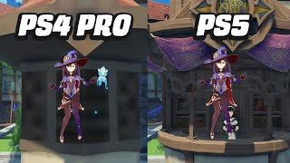 Genshin Impact PS4 Pro to PS5 Comparison (1.5 Update) by GameSpot