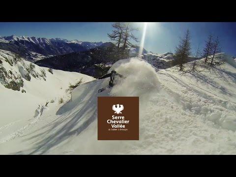 Ski en Forêt à Serre Chevalier