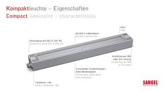 LED compact luminaire and LED recessed luminaire T and FLS