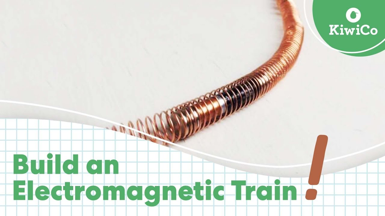 Electromagnetic Train Connecting Batteries In Series Experiment Educationcom