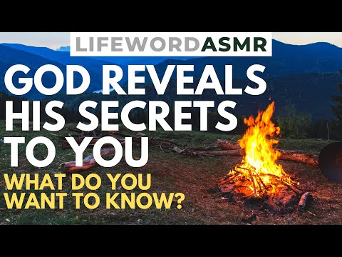 ASMR | God Reveals Secrets to YOU | Christian ASMR Bible Study for Relaxation