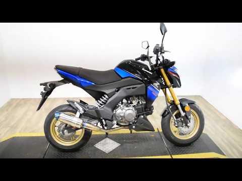 2018 Kawasaki Z125 Pro SE in Wauconda, Illinois - Video 1