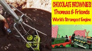 Thomas And Friends Chocolate Brownies - World's Strongest Engine