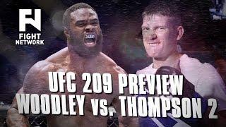 "UFC 209: Tyron Woodley vs. Stephen ""Wonderboy"" Thompson 2 Preview"