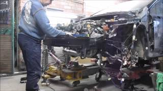 Subaru Impreza. Body repair. Ремонт кузова.