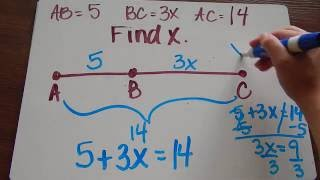 Segment Addition and Midpoint Tutorial