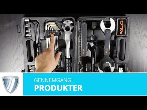 Værktøjssæt 33 dele høj kvalitet video