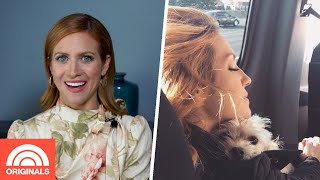 Brittany Snow Shares How Her Dog Is 'Obsessed' With Her Fiance | TODAY Original