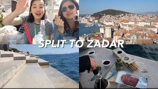 Morning in Split and Sunset in Zadar, Croatia   JOCK Eurotrip Vlog #5