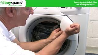 How to open a stuck washing machine door