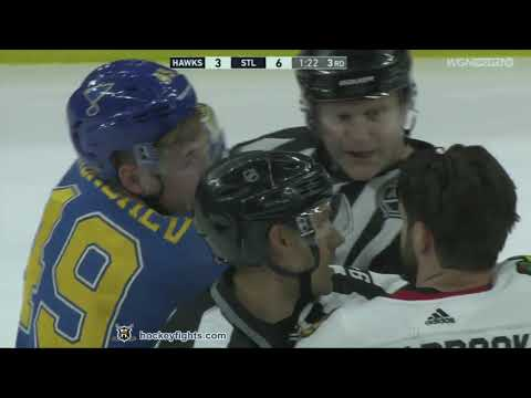 Ivan Barbashev vs. Brent Seabrook