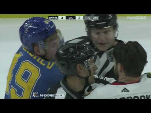 Ivan Barbashev vs. Brent Seabrook