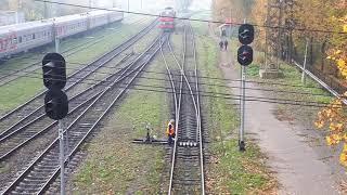 Ручные стрелки на Станции Псков