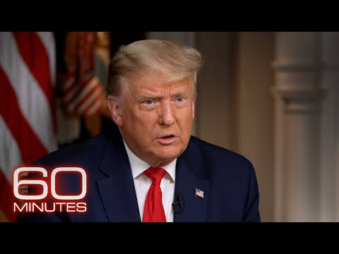 President Donald Trump: The 60 Minutes 2020 Election Interview music video cover