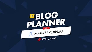 #4 Blog Planner – MarketPlan.io | PitchGround
