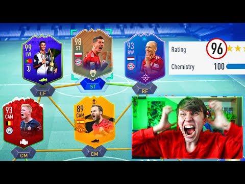196 RATED!! - FULL SBC CARD FUT DRAFT!! (FIFA 19)