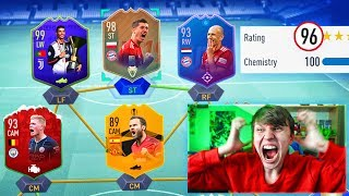 196 RATED!! - FULL SBC CARD FUT DRAFT!! (FIFA 19)