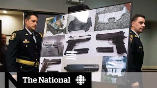 How guns are getting across the border  | Guns in Canada