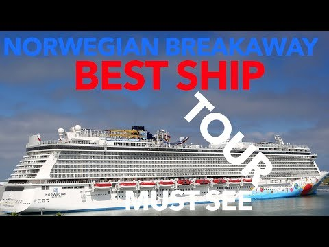 Norwegian Breakaway Review – Full Walkthrough Tour – Norwegian Cruise Lines