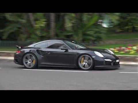 Porsche 991 Turbo S w/ TechArt wheels + Custom Exhaust