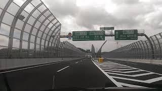 新名神から中国道へ、神戸ジャンクション