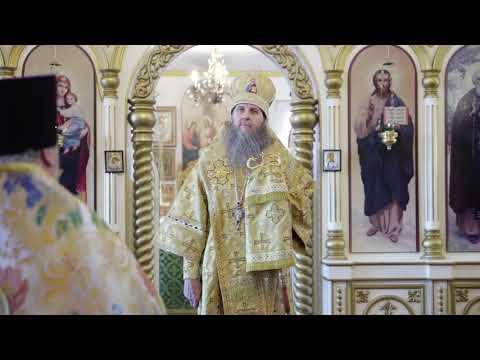 Митрополит Даниил разделил радость Божественной литургии с клиром и прихожанами храма Сергия Радонежского поселка КГСХА