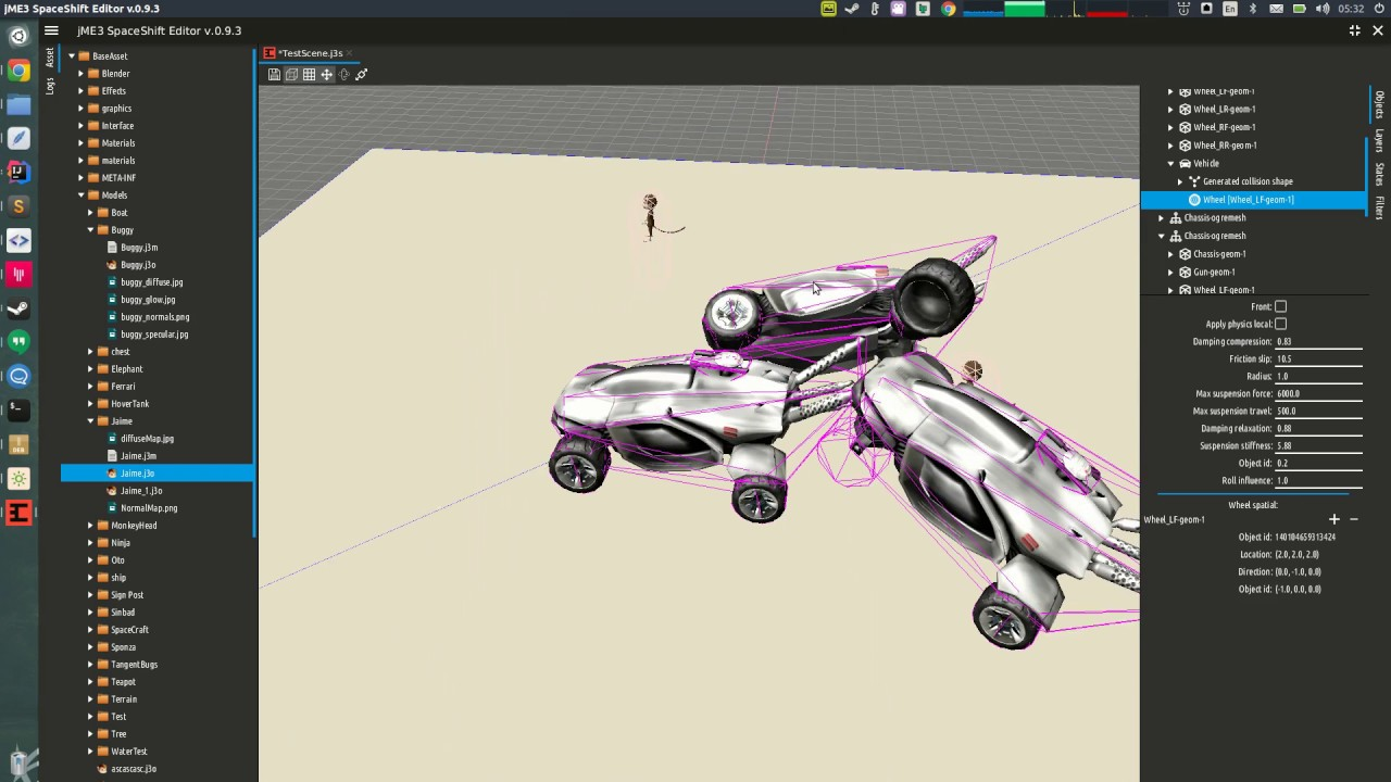 jMonkeyEngine SpaceShift Editor 0.9.3 What's new?