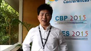Xu Ming at SEES Conference 2015 by GSTF Singapore