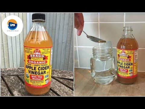 El vinagre de sidra de manzana sirve para la prostata