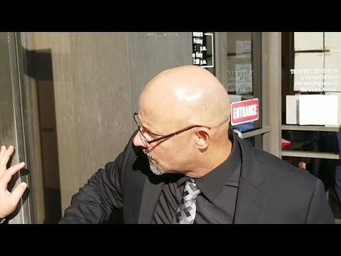 cops watches and  1 amendment activists show up for POETIC Court Date