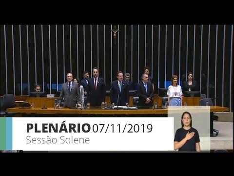 Plenário - Comemoração dos 100 anos do Hospital Pequeno Príncipe (PR) - 07/11/2019 - 09:18