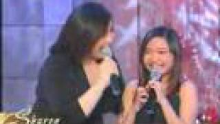 "Charice Pempengco sings ""Mama"" on Sharon, May 18, 2008"
