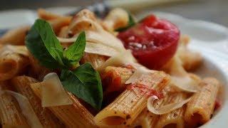 Простой рецепт Пасты с помидорами. Макароны Вкусно и быстро!