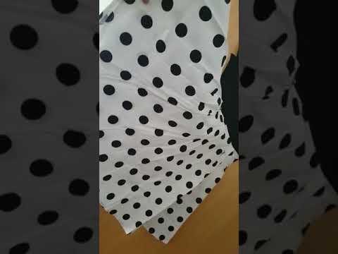 Retro Mädchen Kleid Audrey  Stil Kleid mit Halskette Zubehör