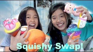 SQUISHY SWAP WITH EMMY at M3SLIME! | CuteFads
