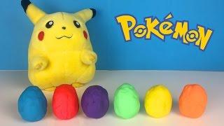 Grotle  - (Pokémon) - Pokemon Play Doh Surprise Eggs Pikachu Grimer Grotle Torterra Chimchar Drapion Surprise Eggs Videos