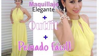 GRWM Maquillaje, peinado y Outfit Elegante de Fiesta!